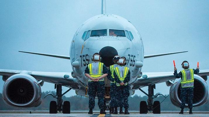 Pesawat P-8 Poseidon. (Dok: Boeing P-8 Poseidon)