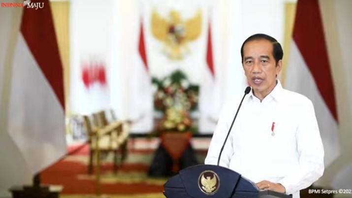 Pernyataan Presiden RI Joko Widodo terkait KRI Nanggala-042, Istana Kepresidenan Bogor, 25 April 2021. (Tangkapan Layar Youtube Sekretariat Presiden)