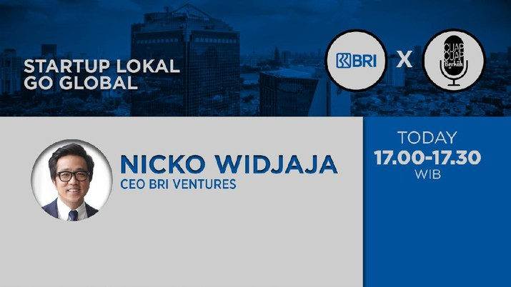 CEO of BRI Ventures, Nicko Widjaja