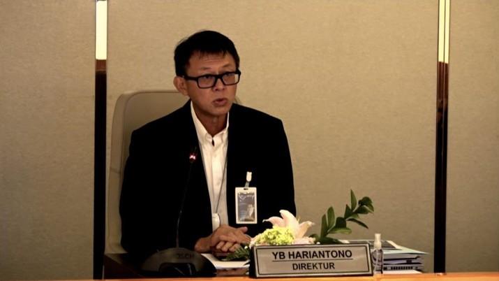 Direktur IT dan Operasi BNI, YB Hariantono (Tangkapan Layar)