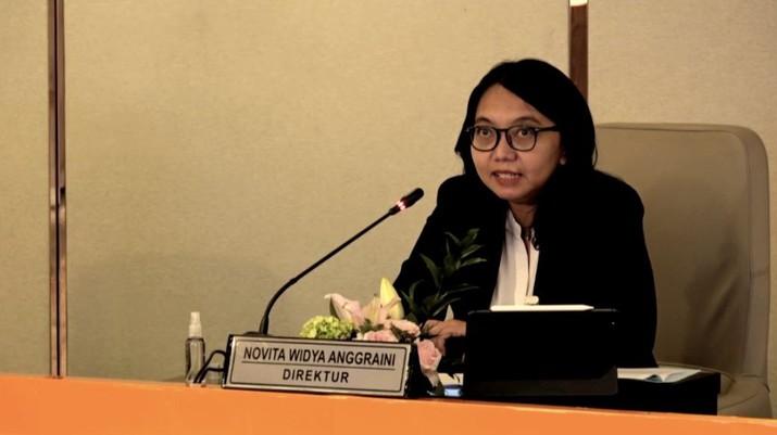 Direktur Keuangan BNI, Novita Widya Anggraini (Tangkapan Layar)