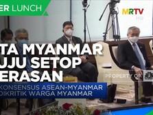 Ikut KTT ASEAN, Junta Myanmar Setuju Setop Kekerasan