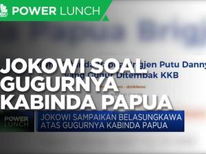 Jokowi Ucapkan Belasungkawa Atas Gugurnya Kabinda Papua