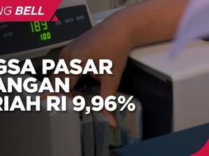 Pangsa Pasar Keuangan Syariah Indonesia Baru 9,96%