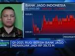 Rugi Q1 Membengkak, Saham Bank Jago Anjlok Lebih Dari 3%