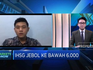 Transaksi Saham Sepi, IHSG masih di Bawah Level 6.000