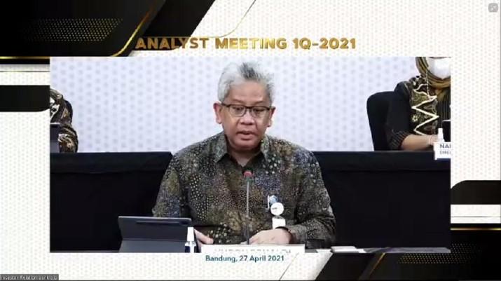 Analyst Meeting for 1Q-2021 bank bjb (Tangkapan Layar)