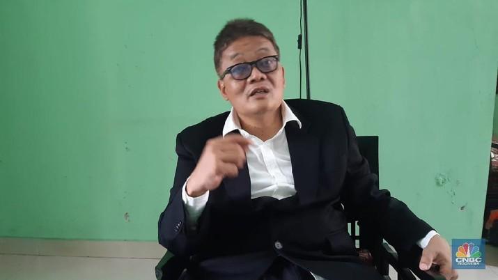Direktur Pemeliharaan dan Perbaikan PT PAL Indonesia (Persero) Kuntjoro Pinardi. (CNBC Indonesia/Muhammad Iqbal)