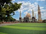 Keren! Bak Taj Mahal, Ini Masjid Alun-Alun Majalengka