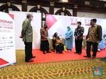 Gaya Wimboh Hingga BGS Cek Vaksinasi IKNB untuk Lansia RI