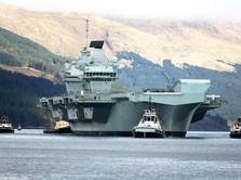 Kapal Induk Ratu Elizabeth Merapat ke Jepang-Korsel, Ada Apa?
