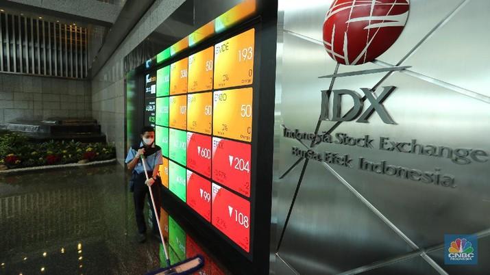 Ilustrasi Bursa Efek Indonesia (CNBC Indonesia/ Tri Susilo)