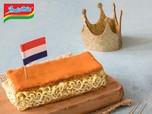 Viral! Kue Indomie di Hari Lahir Raja Belanda