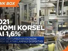 Q1-2021, Ekonomi Korea Selatan Capai 1,6%