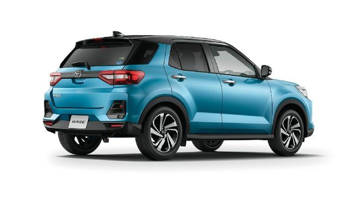 Toyota Raize (Tangkapan Layar via global.toyota)