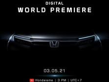 Kode Keras, Peluncuran Honda All New BRV 2021 Pekan Depan?