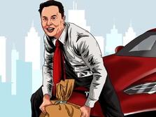 Sedih! Dipompom Elon Musk ke US$1, Harga Dogecoin Anjlok