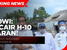 Jokowi: THR PNS Hingga Pensiunan Cair Mulai H-10 Lebaran