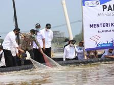 Menteri Trenggono Dorong Kemandirian Pembudidaya Milenial
