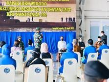 Sederet Janji Jokowi untuk Keluarga Awak KRI Nanggala-402