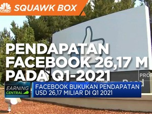 Q1-2021, Facebook Bukukan Pendapatan USD 26,17 Miliar