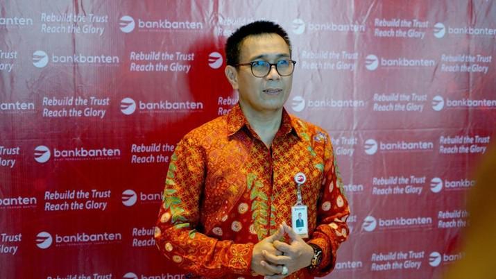 Direktur Utama PT Bank Pembangunan Daerah Banten Tbk (Bank Banten), Agus Syabarrudin (dok. Bank Banten)