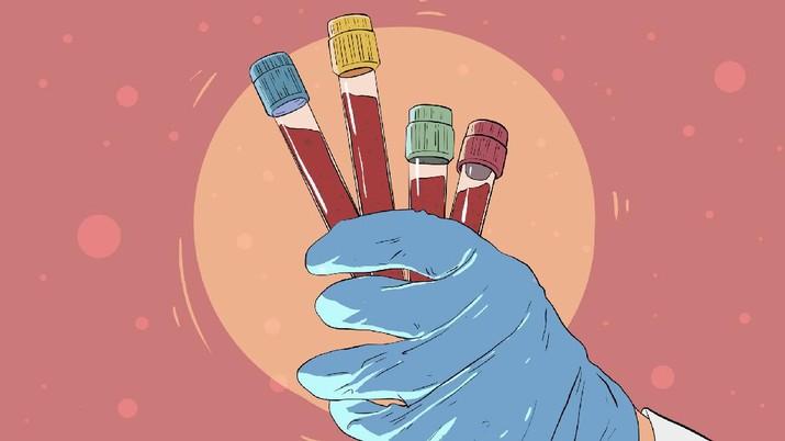 INFOGRAFIS, Golongan Darah Ini Disebut Kebal Covid-19