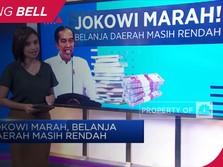 Jokowi Marah, Belanja Daerah Masih Rendah