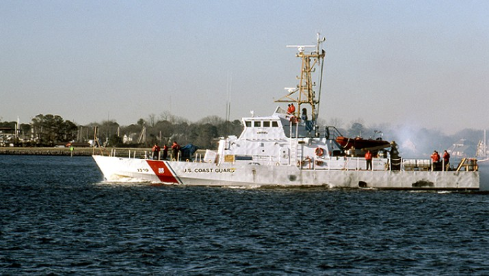 Kapal USCGC Aquidneck (Tangkapan Layar via website atlanticarea.uscg.mil)