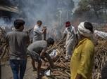 4.000 Orang Tewas per Hari, Sungai Gangga Dipenuhi Mayat