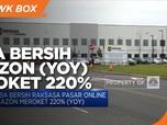 Q1-2021, Laba Bersih Amazon Meroket 220% (YoY)