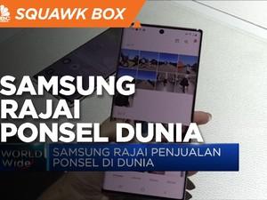 Q1-2021, Samsung Rajai Penjualan Ponsel di Dunia