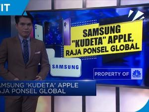 Samsung 'Kudeta' Apple Raja Ponsel Global