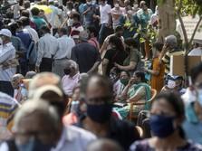 Tsunami Corona India Makin Parah, Kasus Baru 400 Ribu Sehari