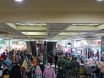 Prajurit TNI di Pasar Tanah Abang: Jangan Seperti di India!