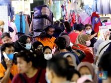 Blak-blakan Pedagang Pasar Tanah Abang Soal Efek KRL Dibatasi