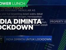 India Diminta Untuk Lockdown