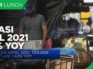 Inflasi April 2021 Capai 1,42% (yoy)