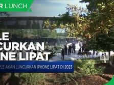 Apple akan Luncurkan iPhone Lipat pada 2023