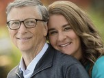 Cerai, Bill & Melinda Gates Jual Semua Saham Twitter & Apple