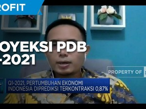 CORE Proyeksi PDB Q1-2021 Terkontraksi 0,5%  Hingga 1%