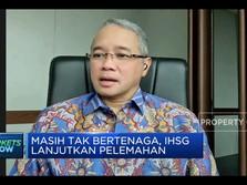 Investor Masih Wait and See, IHSG Lanjutkan Perlemahan