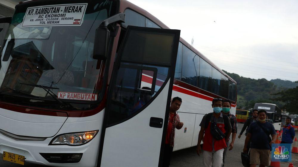 Pelabuhan Merak, Banten. (CNBC Indonesia/Andrean Kristianto)