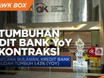 Per April, Pertumbuhan Kredit Bank Terkontraksi 3,77% (YoY)