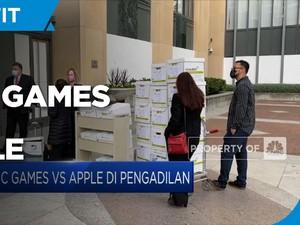 Sidang Epic Games Vs Apple Di Pengadilan Federal