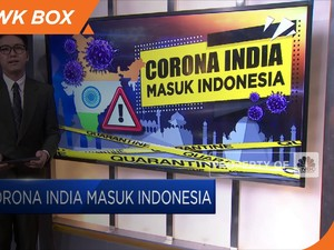 Corona India Masuk Indonesia