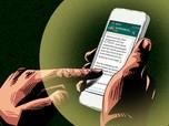 Awas Rampok! Jangan Klik Link Pesan SMS dari WhatsApp Ini