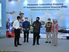 Menteri BUMN Resmikan Pertamina International Shipping