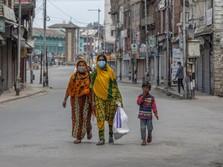 Kasus Covid-19 di India Mereda, Beberapa Kota Mulai Dibuka