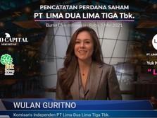 Selamat Mba Wulan Guritno, Saham LUCY Melesat Usai Listing!